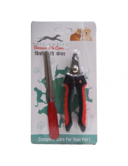 Pets Empire Nail Cutter With Fill