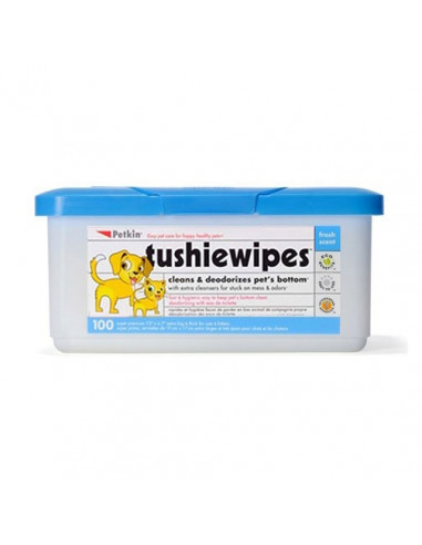 PetKin Tushie Wipes 100 Wipes