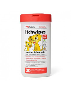 PetKin Itch Wipes - 30 Wipes