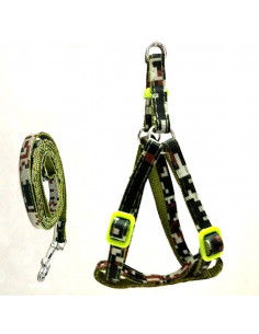 Pawzone Soft Padded Body Harness with Leash - Small