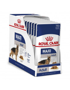 Royal Canin Maxi Adult Wet Gravy Pouches (10 pouches ) 1.4kg