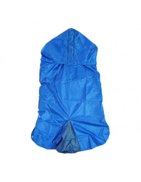 Pawzone Rain Coat For Dog blue