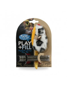 Pet Brands  Play Fill Refillable Cat Toy
