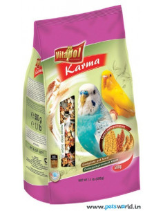 Vitapol Food for Budgie, 500 Gms