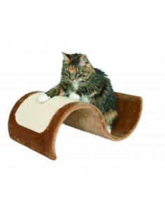 Trixie Wavy Scratching Wave for Cats, Brown