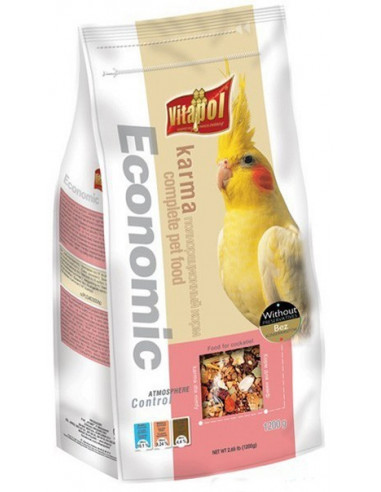 Vitapol Economic Food For Cockatiel 1200 Gm