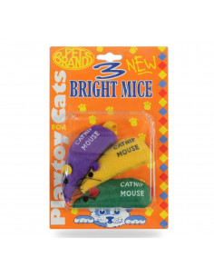 Pet Brands Three bright mice