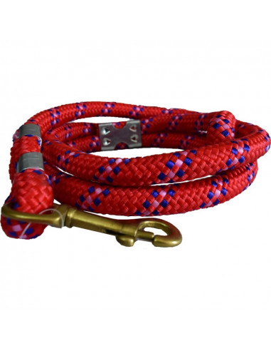 Pawzone Good Quality Red Leash(Brass Hook)