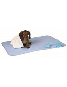 Puppy Kit with blanket, toys & towel, Light Blue