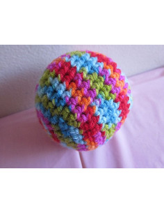 Crochet Ball Catnip Toy