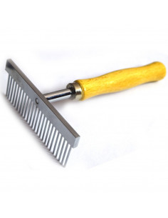 Pawzone Wooden handle  Pet Hair Flea Comb