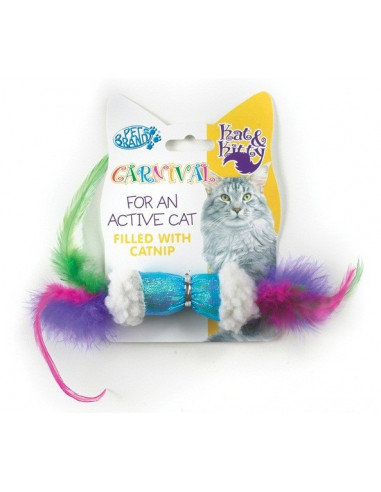 Pet Brands Carnival Cat Sheep and Feather
