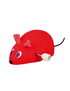 Wind Up Felt Mouse, Plastic