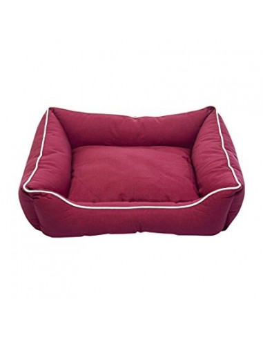 "DGS Lounger Bed 32""x28"" Cranberry L"