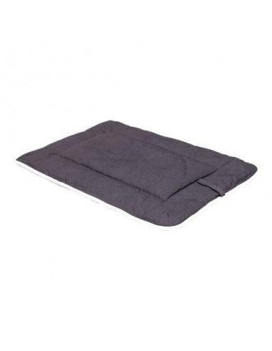 """DGS Crate Pad with Sherpa Top 23""""x36"""" Pebble Grey L"""