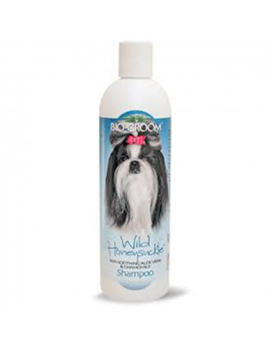 Biogroom Wild Honeysuckle Natural Scent Shampoo 355ml