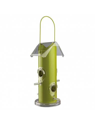 Trixie Outdoor Bird Food Dispenser, Metal, Silver