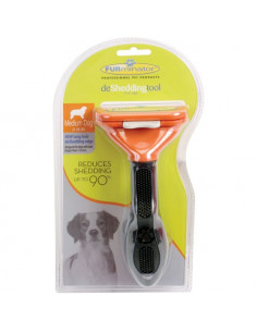 Pawzone Deshedding Tool For Medium Dogs