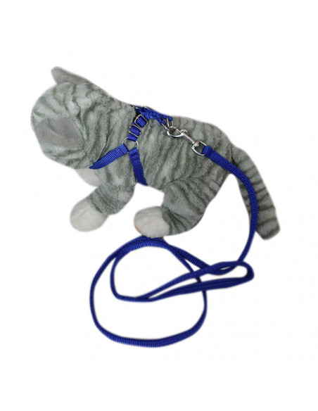 Pawzone Cat Body Harness With Leash Set