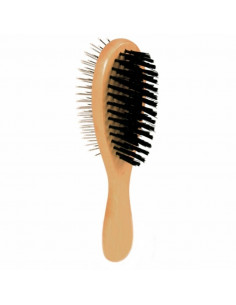 Pawzone Dog Brush Double Sided Pin + Bristles