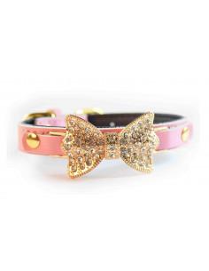 Pawzone Pink  Adjustable Pendant Cat Collars