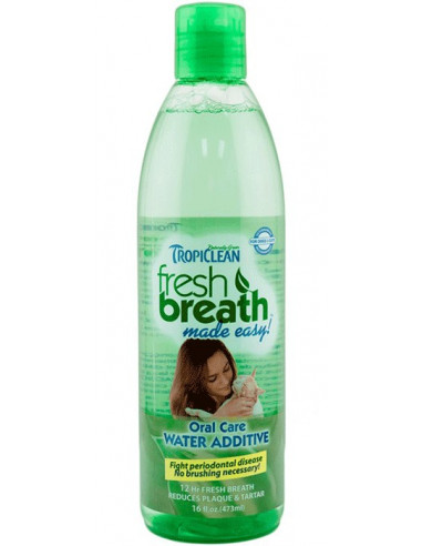 TropiClean Fresh Breath Water Additive, 473 ml