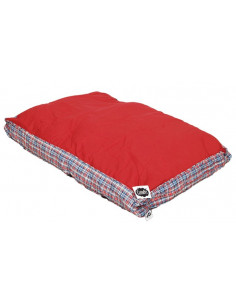 Cleen Pet Flat Bed (Red Check)