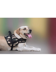 Pawzone ultra strong super comfort Army dog harness