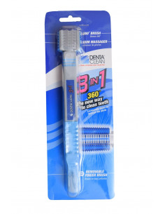 Smarty Pet Tooth Brush- 3 in 1