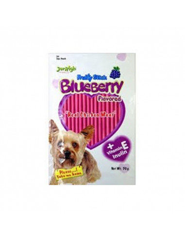 Jerhigh Fruity Stick Blueberry Dog Chewy Treats(Pack of 6)
