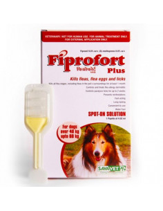 Savavet Fiprofort Plus Spot On For Dogs Over 40 to 60kg