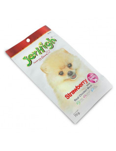 JerHigh Strawberry Dog Treats, 70 g (Pack of 3)