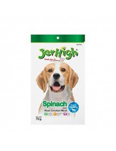 Jerhigh Spinach  Dog Chewy Treats 70gms