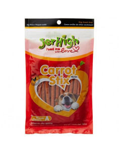 JerHigh Carrot Stix Dog Treats 100 g