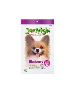 Jerhigh Blueberry Dog Treats 70Gms