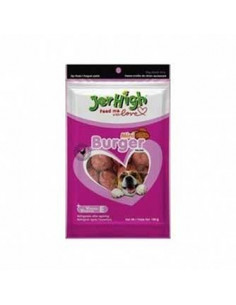 Jerhigh Mini Burger Dog Chewy Treats 100 gm