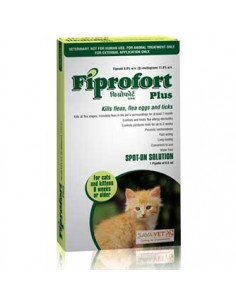 FIPROFORT PLUS FOR CATS & KITTENS 8 WEEKS OR OLDER 0.5ML X 1 PIPETTE