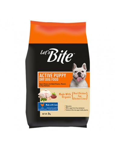 Let's Bite Active Puppy 3kg