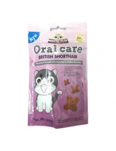 Meow Fun Oral Care British Shorthair For Cat 60gm
