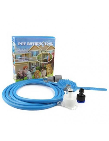 Pawzone Pet Shower Bathing Tool for Dog & Cat