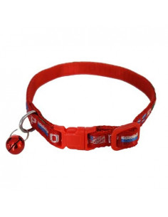 Pawzone Printed Collar With Bell