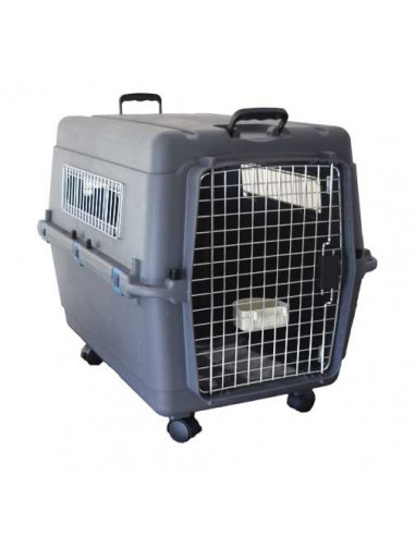 Pawzone Pet Carrier White & Grey 32 inches length
