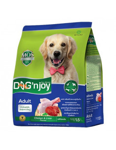 Dog' Njoy Adult Medium & Large Breed Chicken & Liver Flavor 10Kg